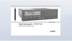 Manuale tachigrafo digitale